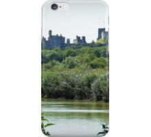 Arundel Castle from the Black Rabbit at Houghton. iPhone Case/Skin