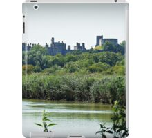 Arundel Castle from the Black Rabbit at Houghton. iPad Case/Skin