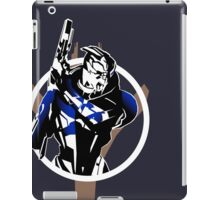Garrus and Cruiser (alt) iPad Case/Skin