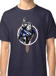 Garrus and Cruiser (alt) Classic T-Shirt