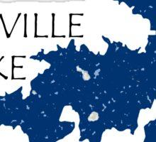 Lake Sommerville Sticker