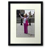 Dame Barbara Windsor DBE joins Mayor's Team London Ambassadors to show London is open to all Framed Print