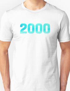 2000 Watercolor Unisex T-Shirt