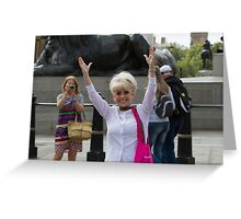 Dame Barbara Windsor DBE joins Mayor's Team London Ambassadors to show London is open to all Greeting Card