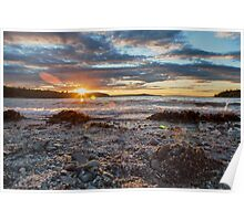 Acadian Sunset  Poster