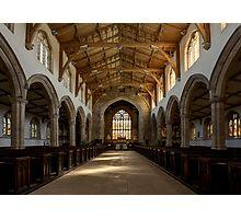 Inside St.James' church. Photographic Print