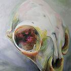 Cat Skull by Georgia Alderson