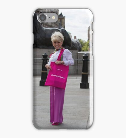 Dame Barbara Windsor DBE joins Mayor's Team London Ambassadors to show London is open to all iPhone Case/Skin