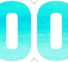 2002 Watercolor Sticker