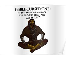 FEEBLE CURSED ONE! Poster