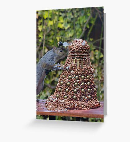 Extermi-Nut! Greeting Card