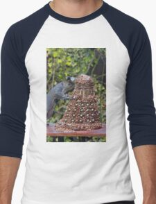 Extermi-Nut! Men's Baseball ¾ T-Shirt