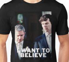 Believe in Johnlock Unisex T-Shirt