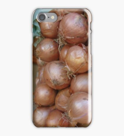 How's about them onions iPhone Case/Skin