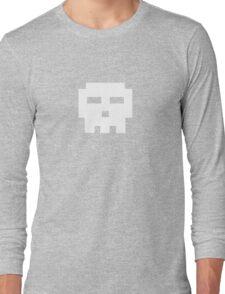 Scott Pilgrim - Pixel Skull Long Sleeve T-Shirt