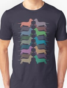 Dachshund Color Parade T-Shirt
