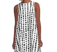 230216 - Black A-Line Dress