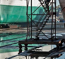Reflection in the dry-dock by awefaul