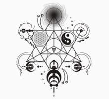 Sacred Crops -Black One Piece - Short Sleeve