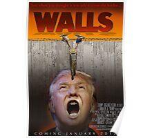Walls(Trump) Poster