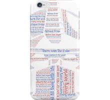 Optimus Prime Quote Word Art iPhone Case/Skin