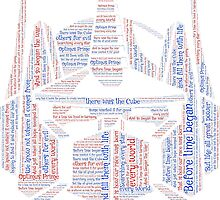 Optimus Prime Quote Word Art by HeckaDoodleDo