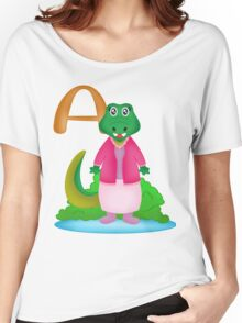 A is for Alligator Women's Relaxed Fit T-Shirt