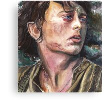 Tolkien: The Ring Bearer Canvas Print