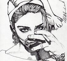 Madonna 7 by Paul  Nelson-Esch