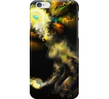 Liminal Light Creature [Digital Fantasy Figure Illustration]  iPhone Case/Skin