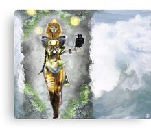 Risen again [Digital Fantasy Figure Illustration] Canvas Print