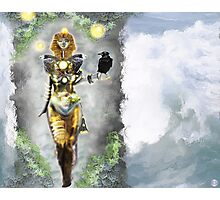 Risen again [Digital Fantasy Figure Illustration] Photographic Print