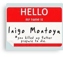 Introduction to Inigo Canvas Print
