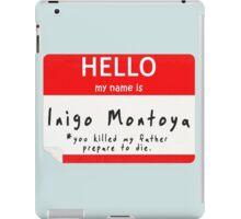 Introduction to Inigo iPad Case/Skin