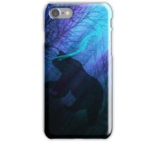 Grizzly Moon: Midnight Mist iPhone Case/Skin
