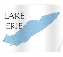 Lake Erie Poster