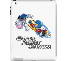 Japanese Beast Wars Optimus Prime vs Megatron iPad Case/Skin