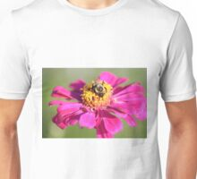 Flower Nnd Bumble Bee  Unisex T-Shirt