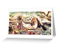 Remembrance of Futures past [Digital Fantasy Figure Illustration] Greeting Card