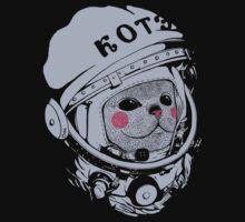 Spaceman cat One Piece - Short Sleeve