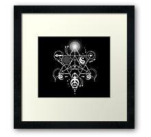 Sacred Crops -White Framed Print