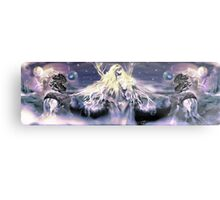 Universal reversal [ Midnight Ocean version ] Digital Fantasy Figure Illustration Metal Print