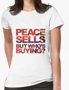 Megadeth - Peace Sells But Who's Buying ? Womens Fitted T-Shirt