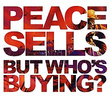 Megadeth - Peace Sells But Who's Buying ? Photographic Print
