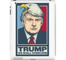 We shall overcomb iPad Case/Skin
