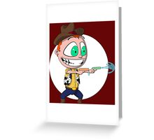 Cowboy of Squirtyness Greeting Card