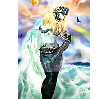 Universia of Galacticus [Digital Fantasy Figure Illustration] Photographic Print