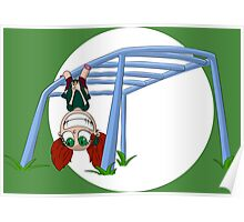 Monkey Bars of Hangyness Poster