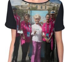 Dame Barbara Windsor DBE joins Mayor's Team London Ambassadors to show London is open to all Chiffon Top