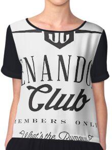 Shenandoah Club Chiffon Top